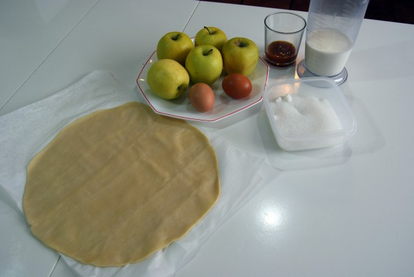 tarta-francesa-de-manzana ingredientes